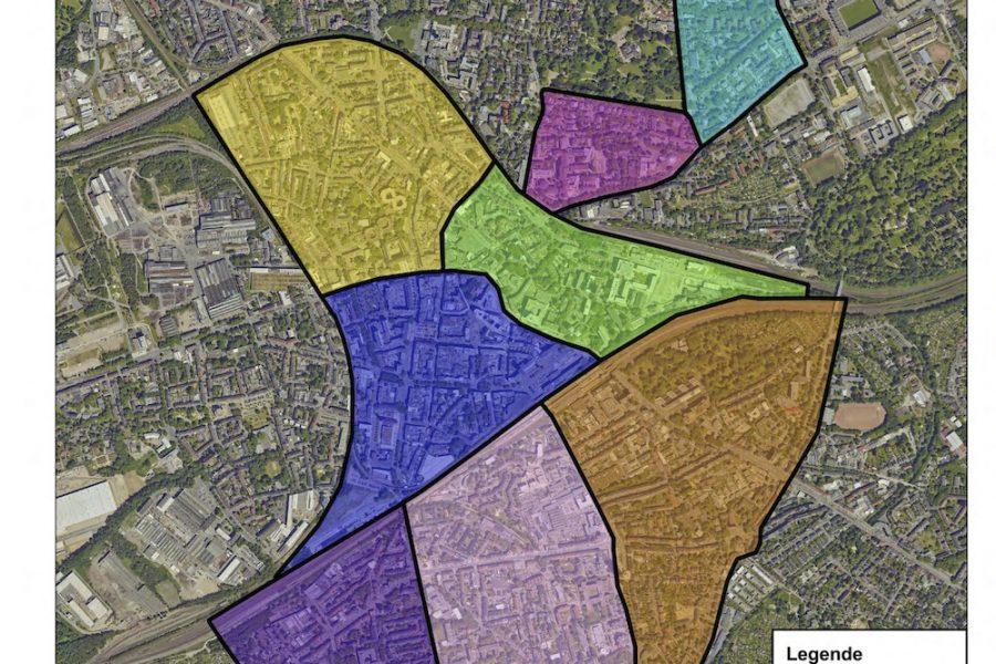 Gesamtkonzept Ruhender Verkehr: Übersicht Bewohnerparkzonen - geplant