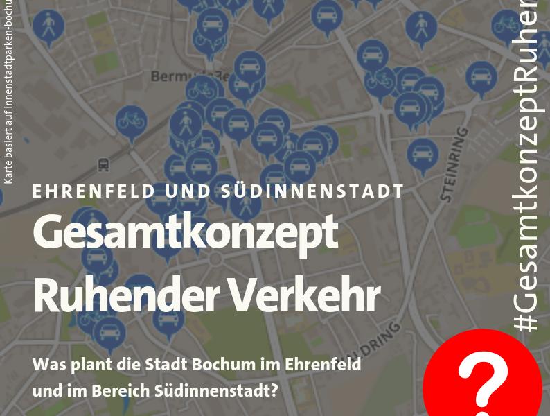 """Flyer: """"Gesamtkonzept Ruhender Verkehr"""""""