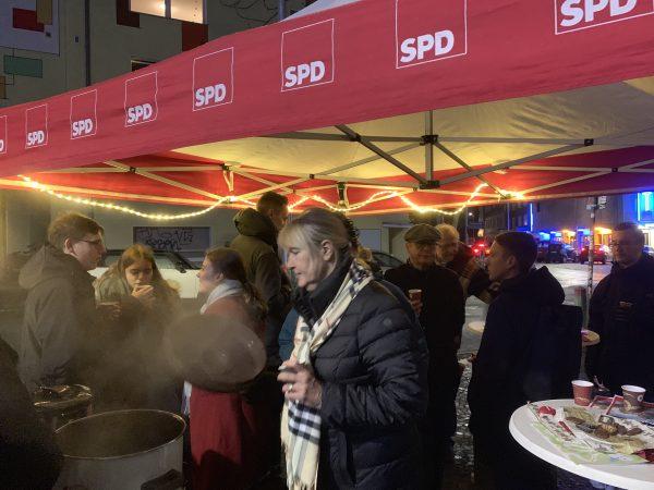 Glühweinstand der SPD Bochum-Ehrenfeld (2018)