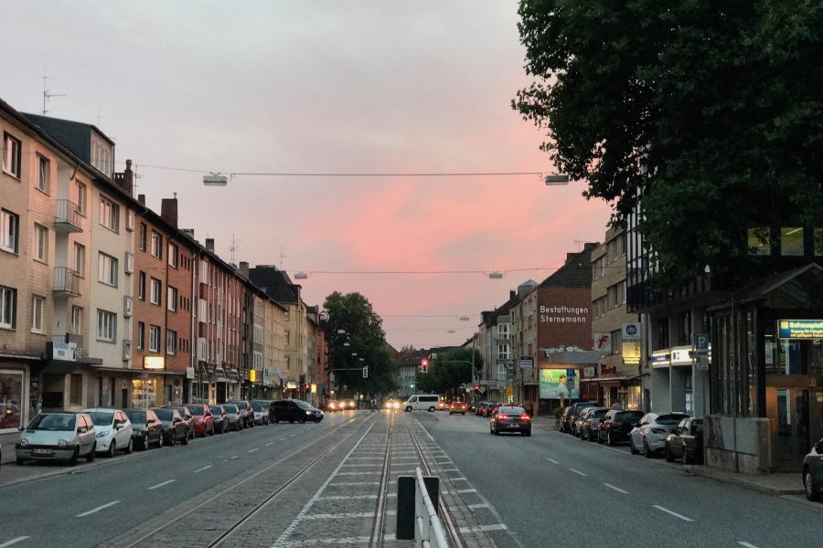 Hattinger Straße im Bochumer Ehrenfeld