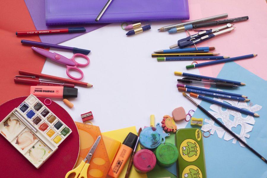 Farben, Stifte & Co.