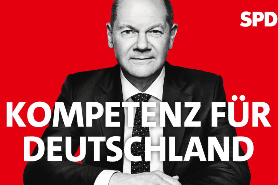 Olaf Scholz (SPD): Kompetenz für Deutschland